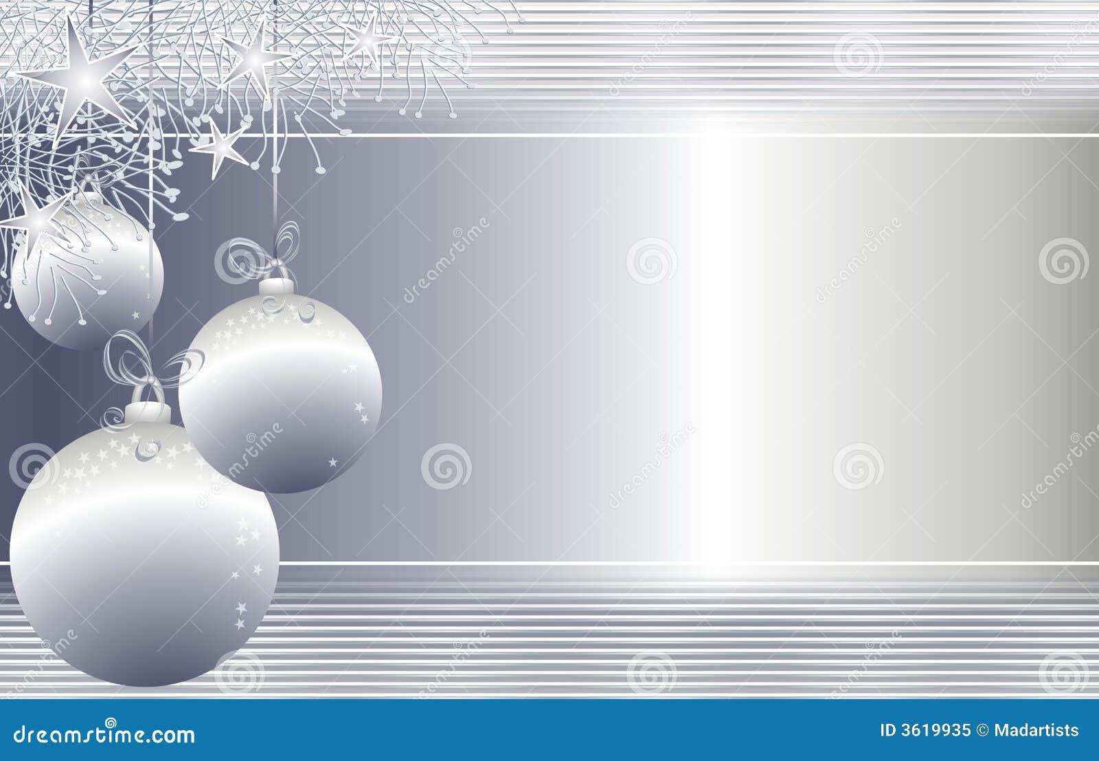 背景圣诞节停止的装饰品银