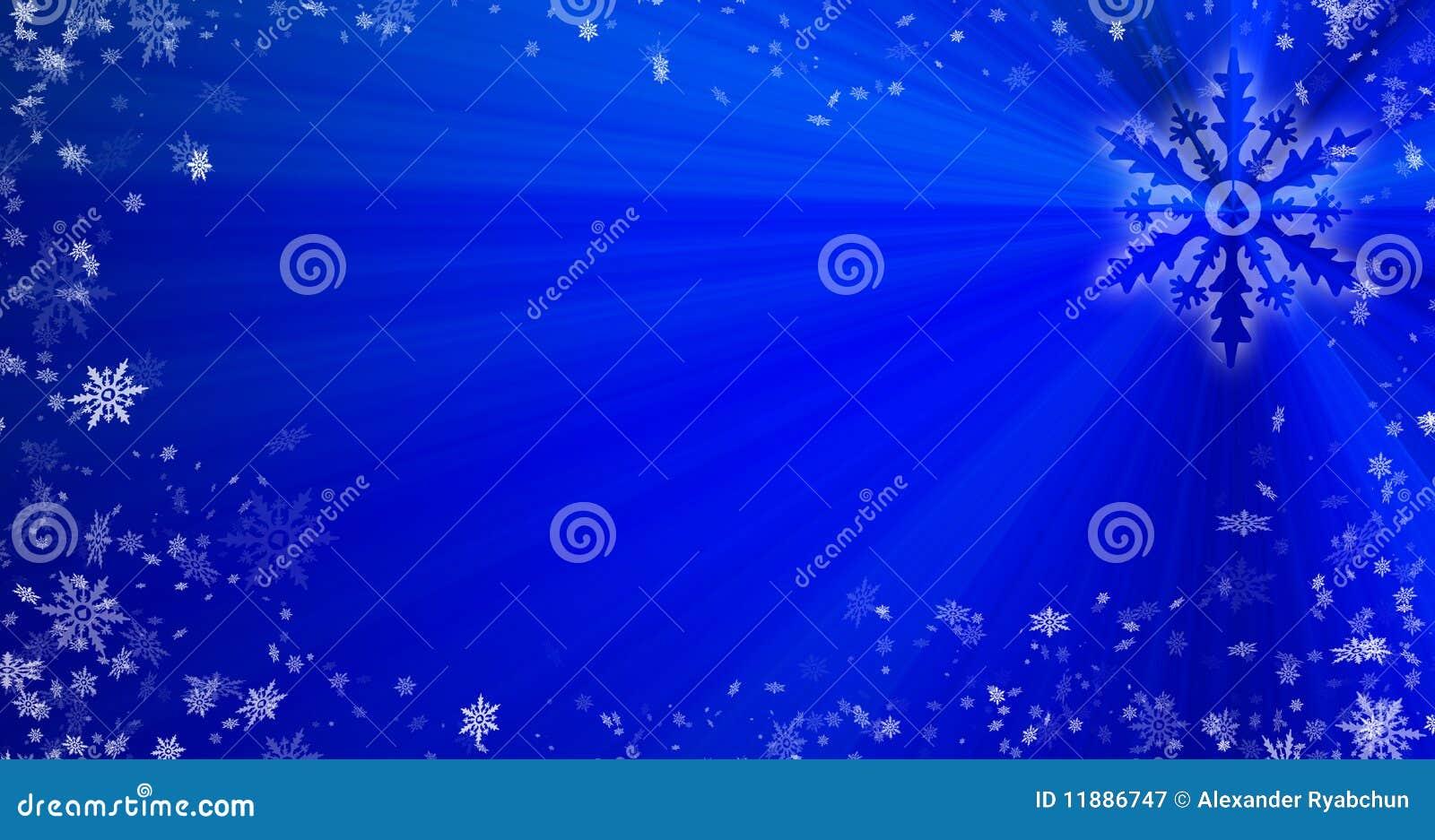背景圣诞节雪花
