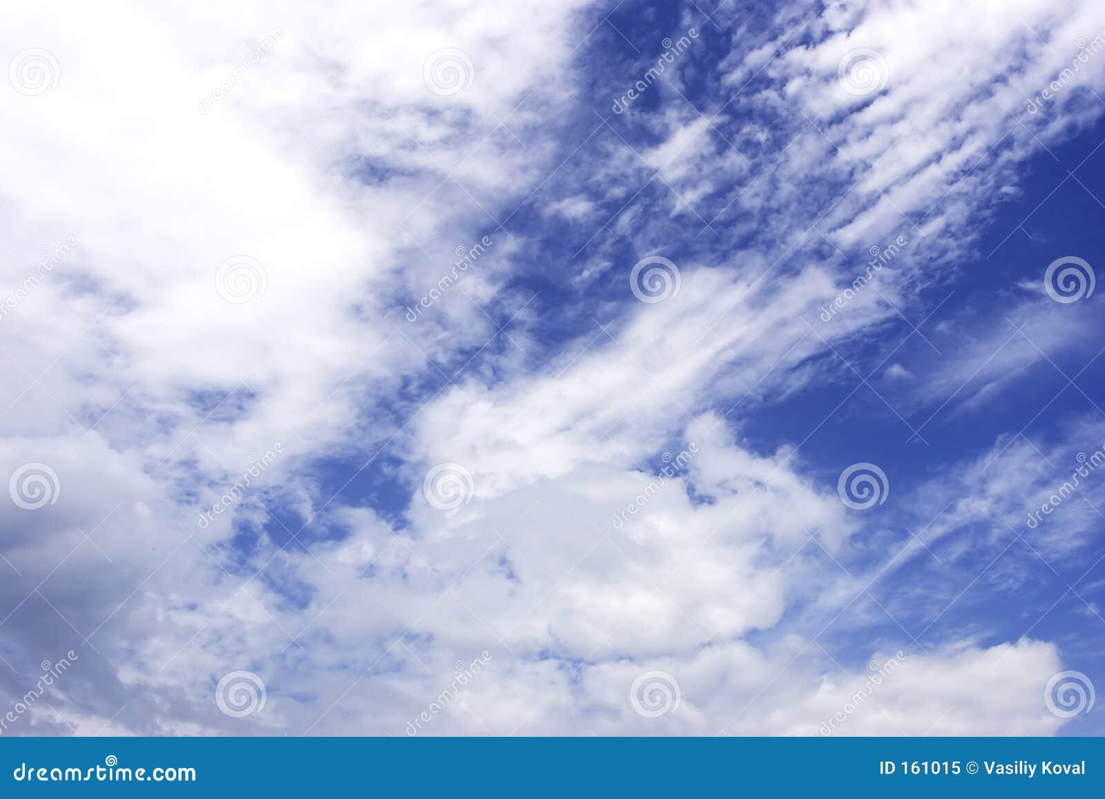 背景多云天空