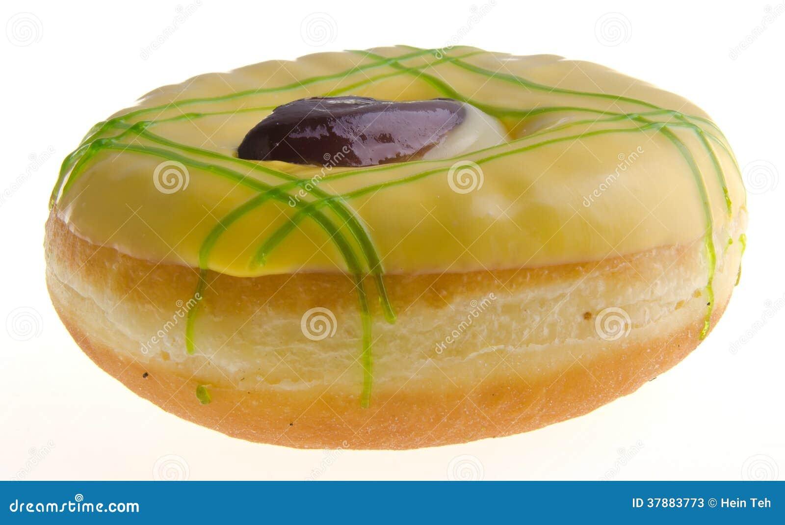 背景多福饼查出的宏观照片白色