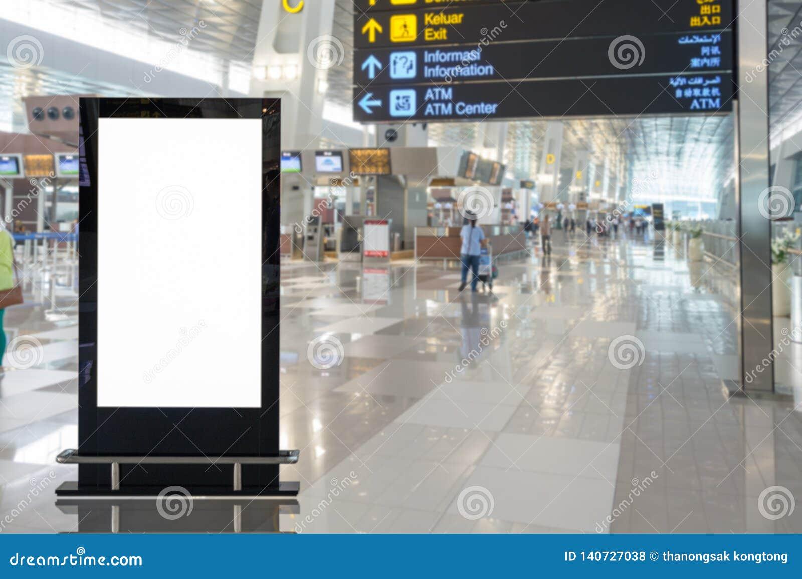 背景大LCD广告