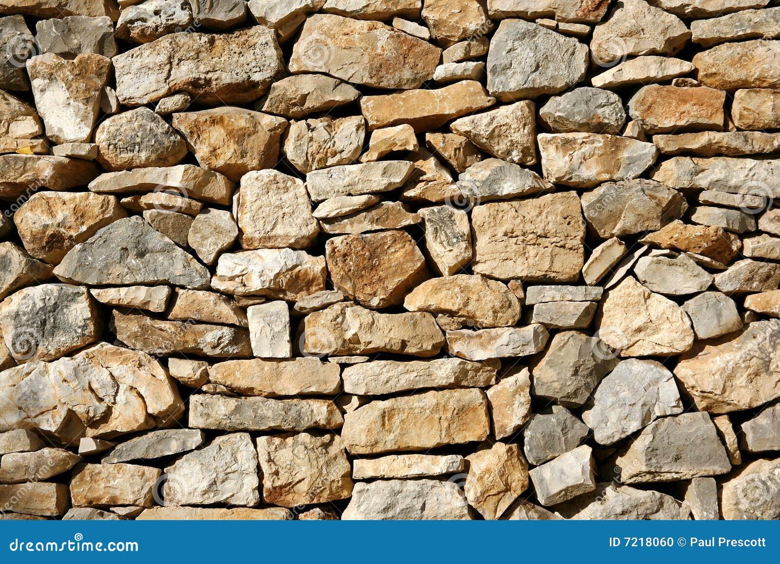 背景干燥石灰石岩石结构墙壁.