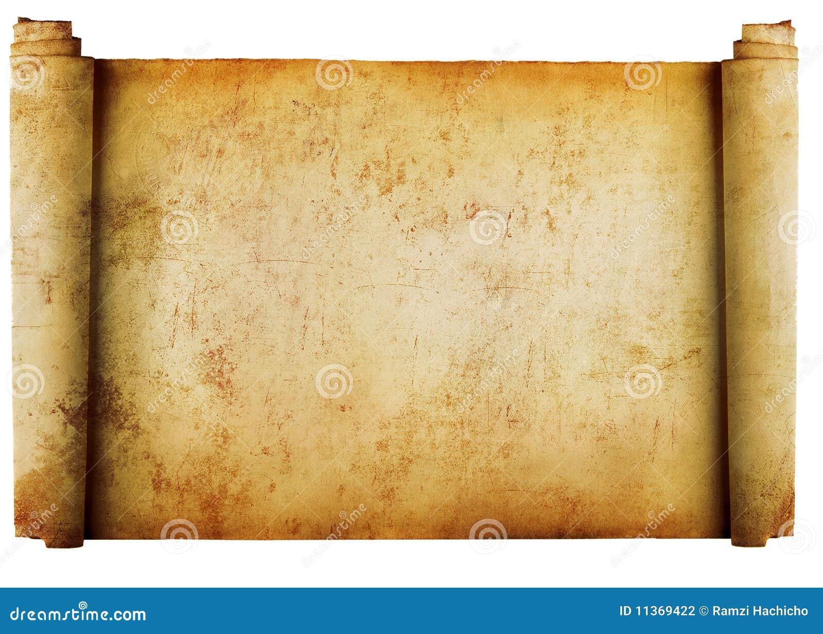 背景查出的羊皮纸卷葡萄酒w
