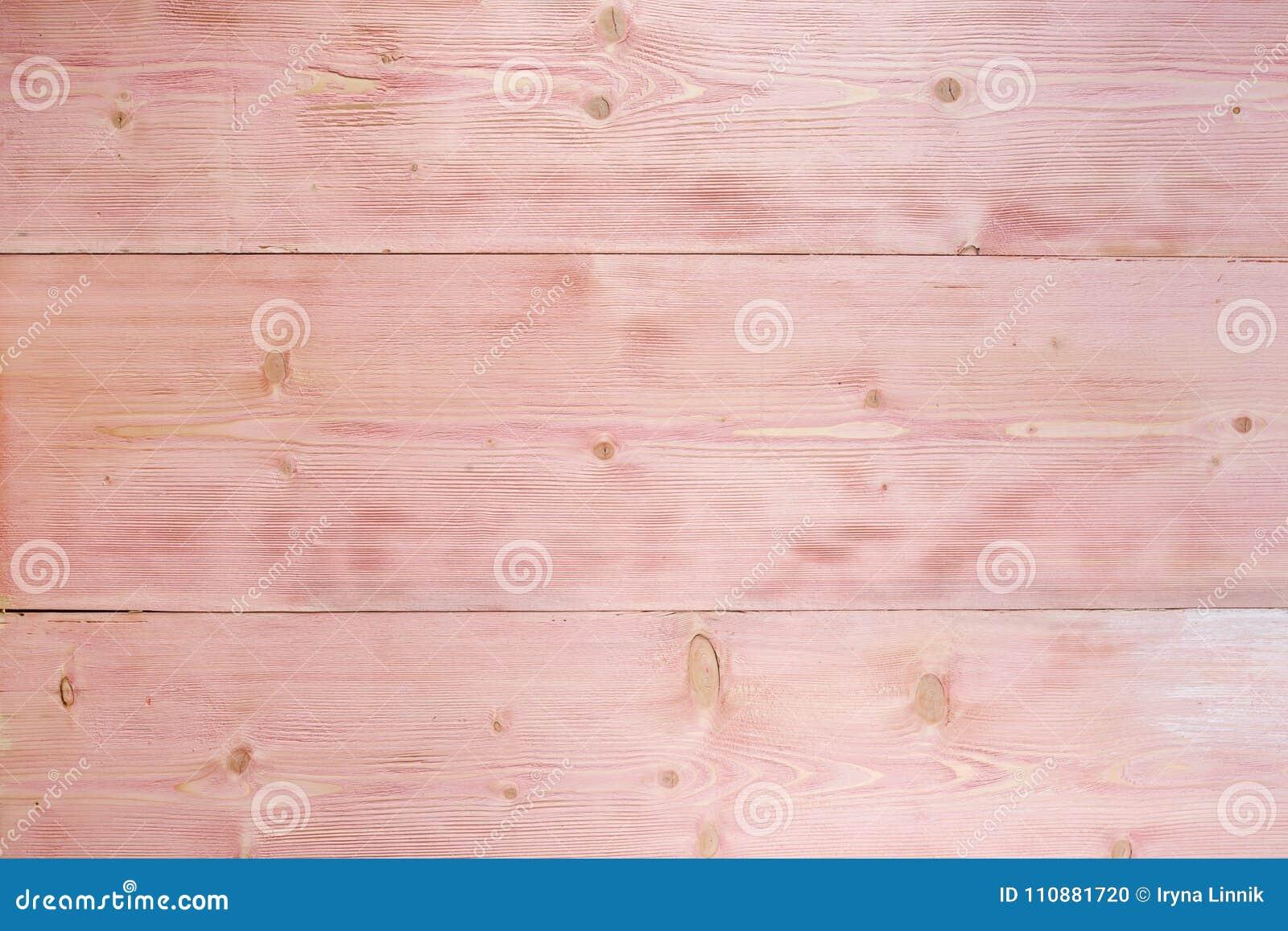 背景桃红色木 木纹理样式板条表面绘了白色和桃红色柔和的淡色彩