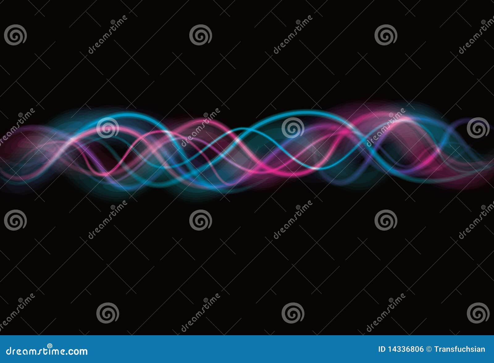 背景模糊的作用光波