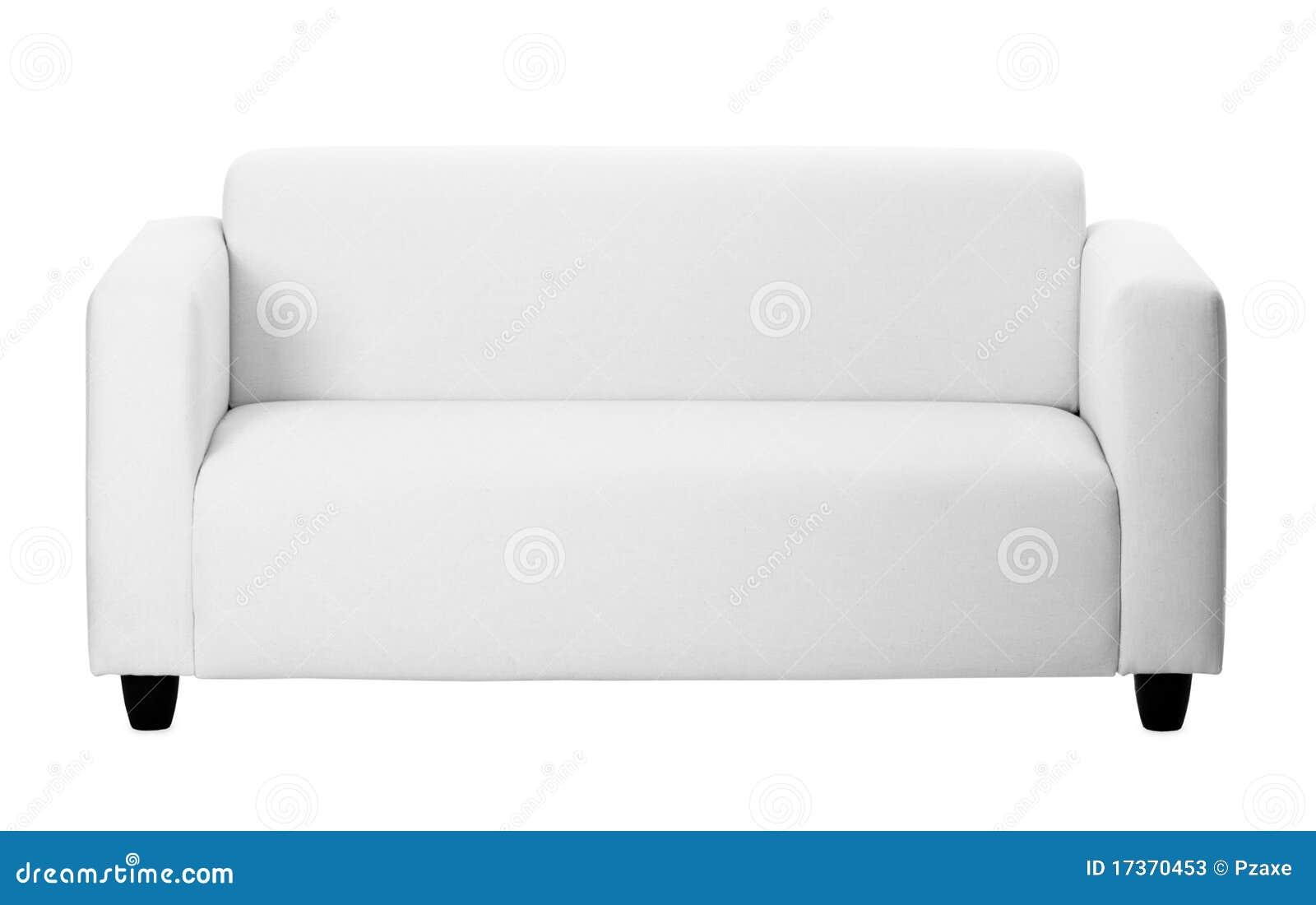 背景灰色普通的沙发白色