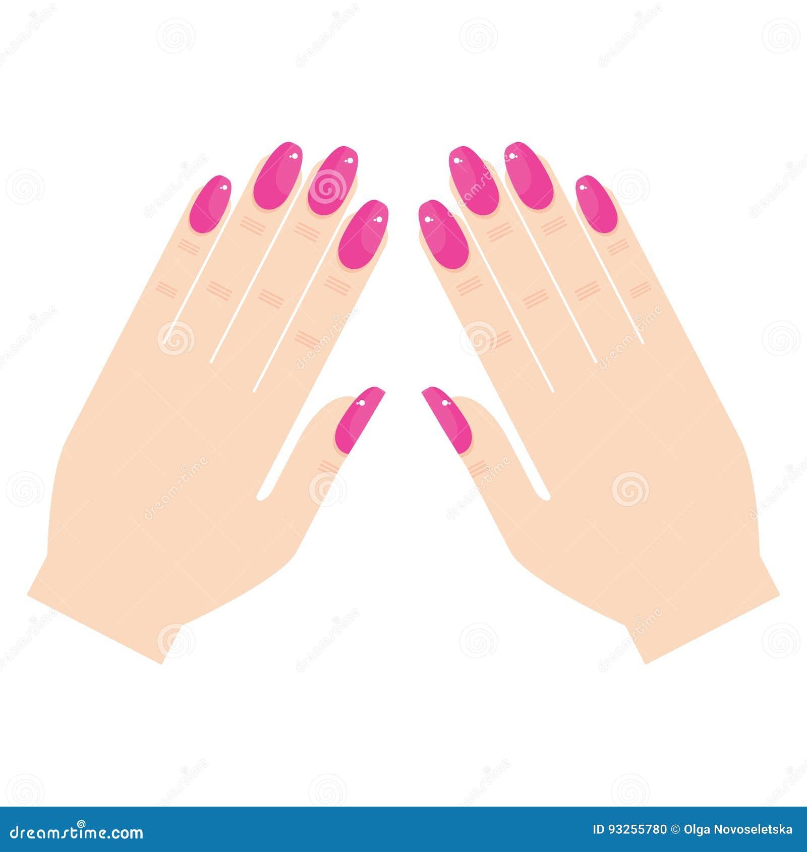 背景现有量查出的修指甲白人妇女