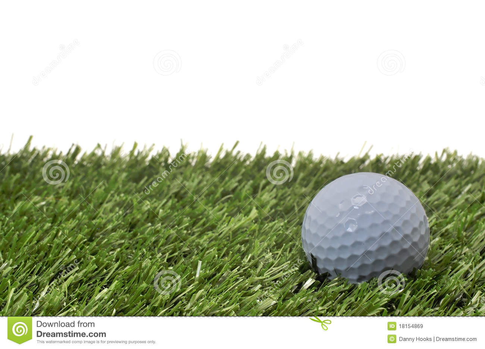 背景球高尔夫球草白色