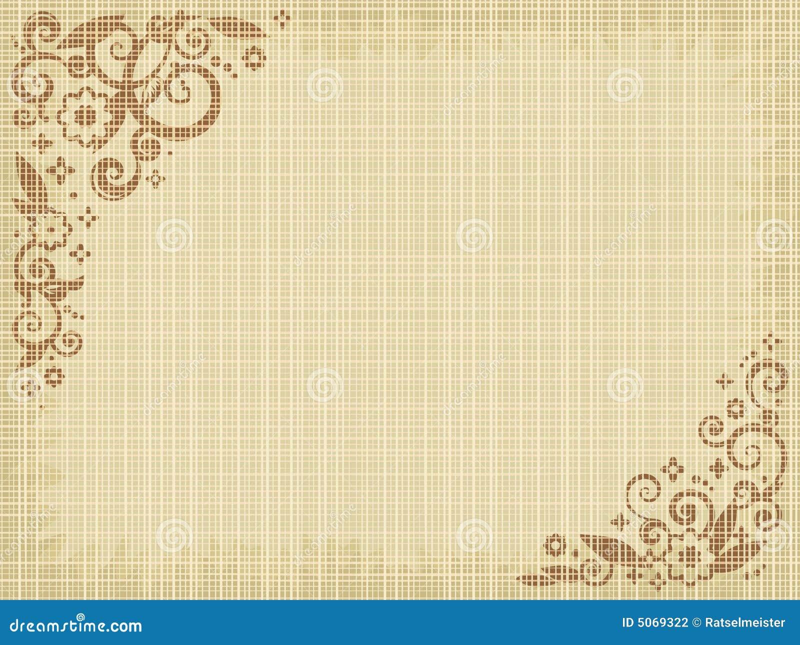 背景画布花卉图案