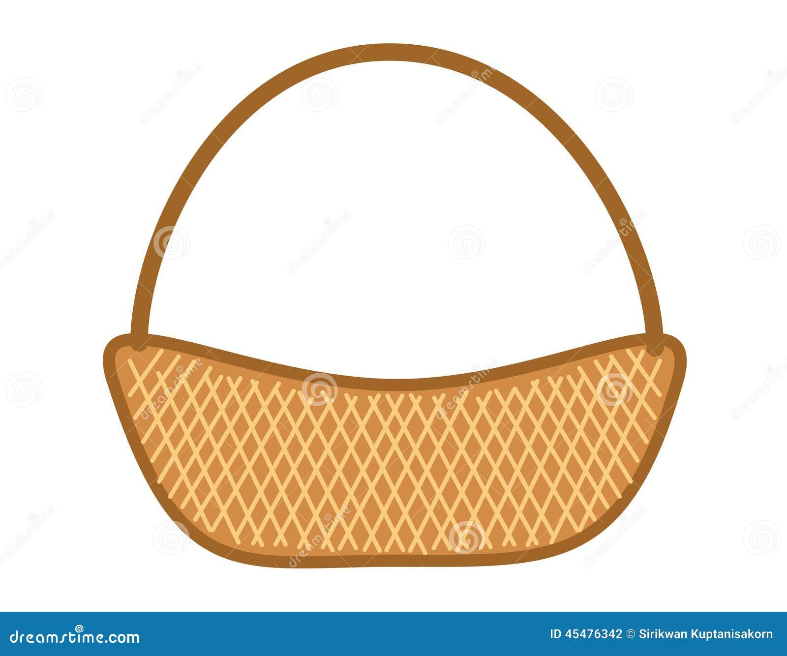 背景篮子查出的空白柳条