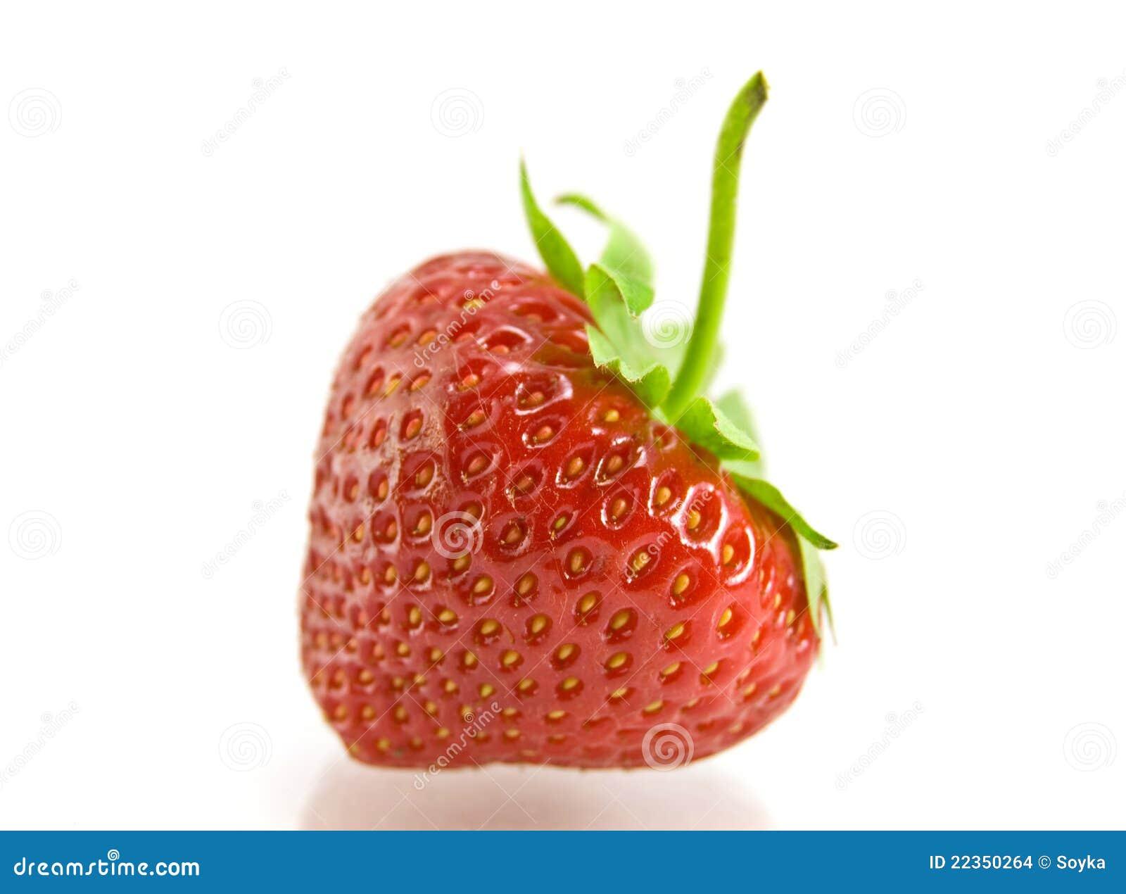 背景草莓白色