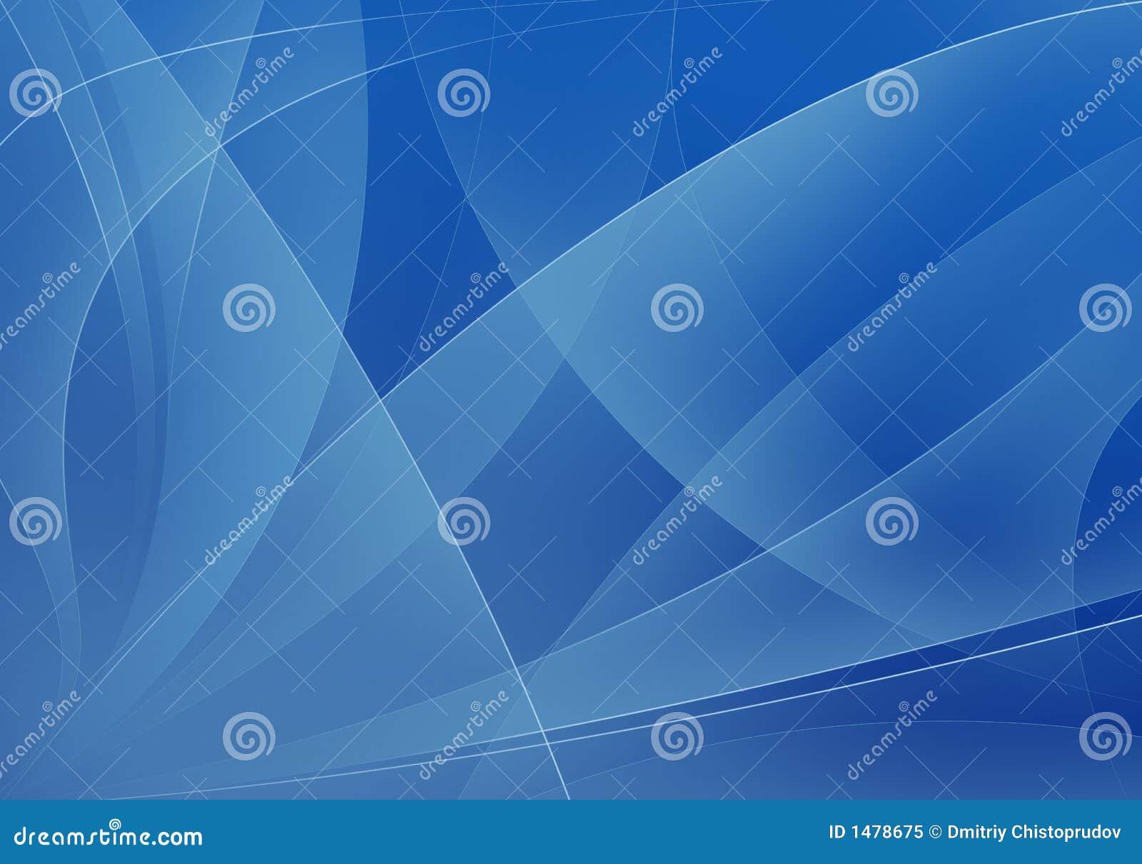 背景蓝色形状