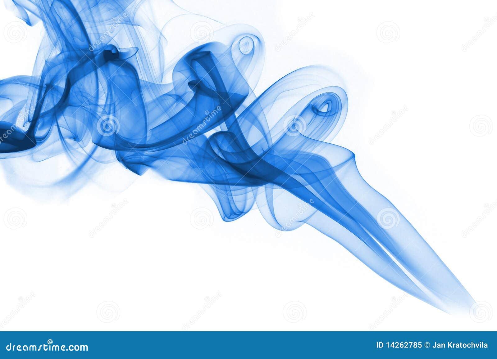 背景蓝色烟白色