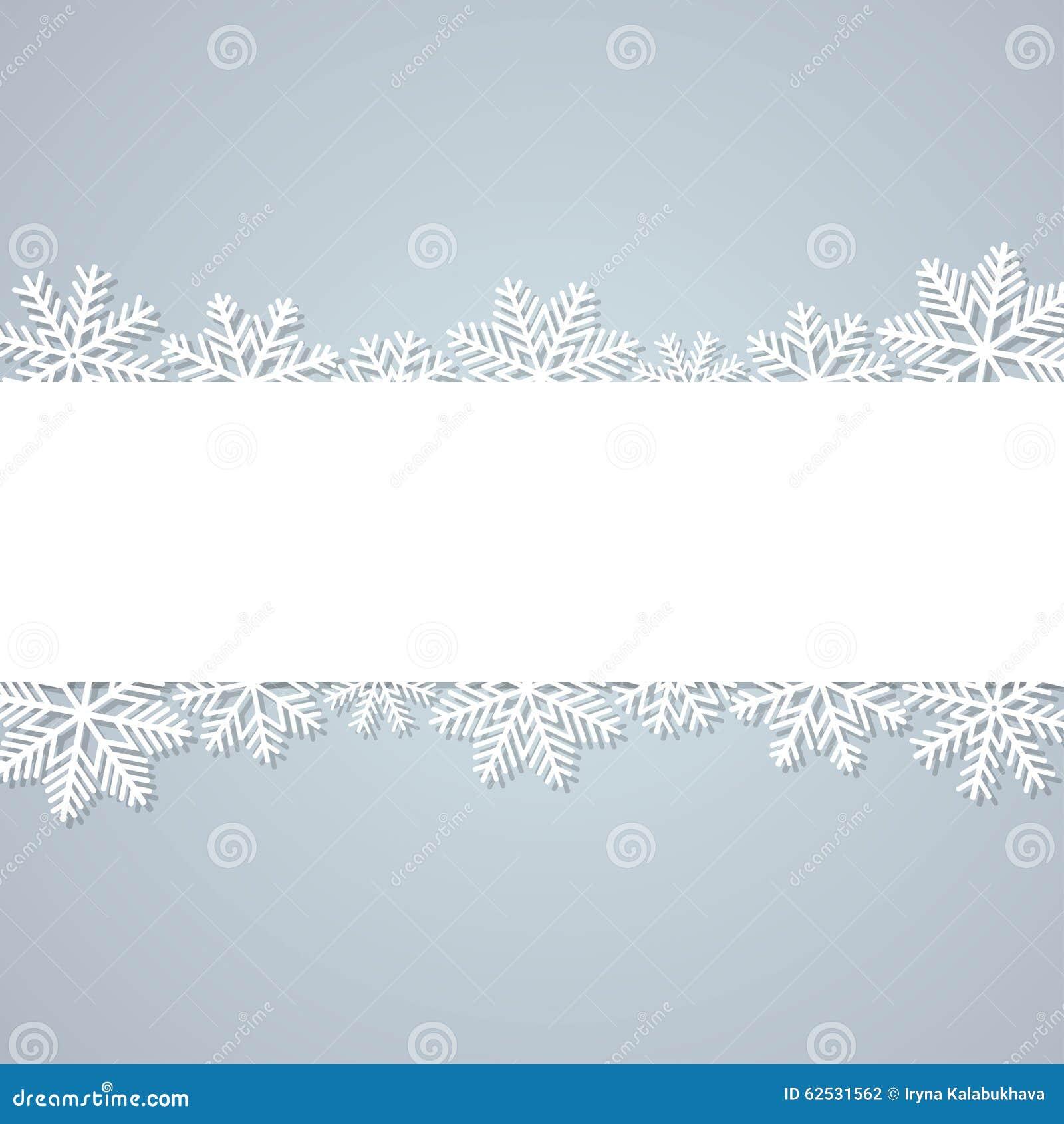 背景蓝色雪花白色冬天