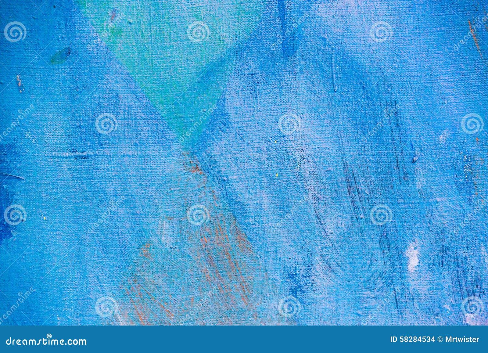 背景蓝色画布绘了