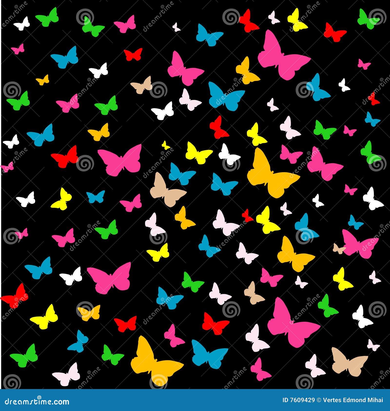 背景蝴蝶向量