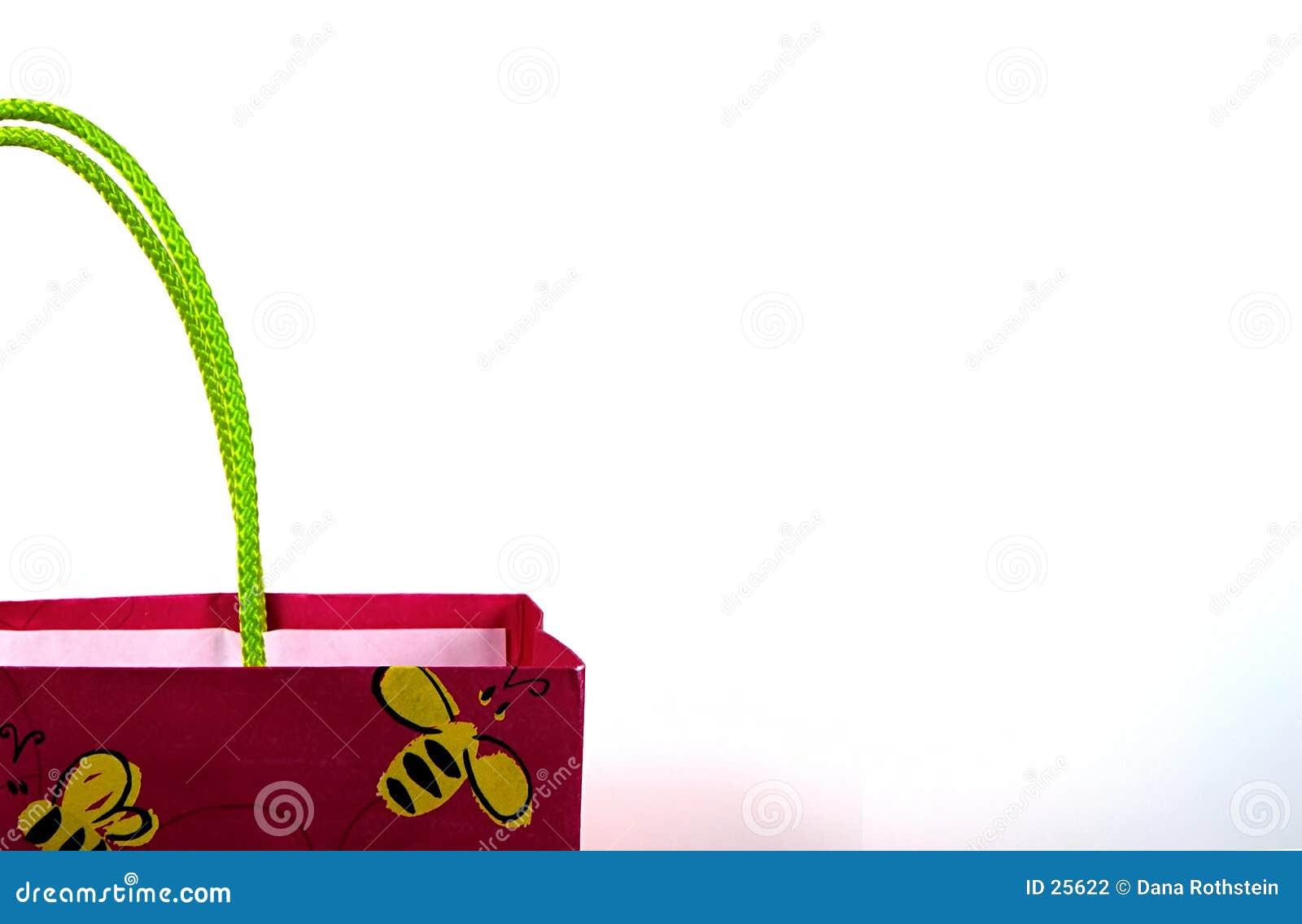 背景袋子礼品