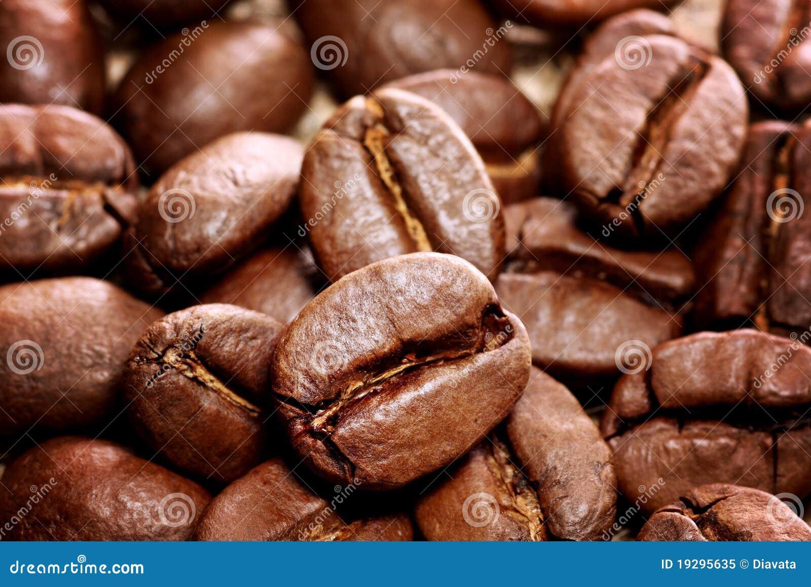 背景豆咖啡