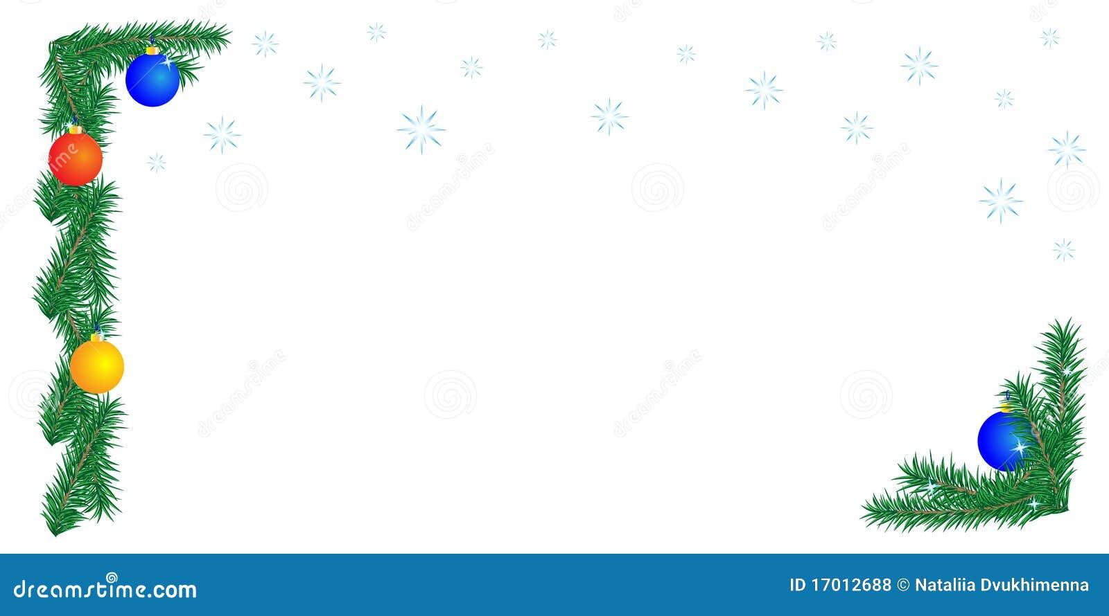 背景边界圣诞节白色