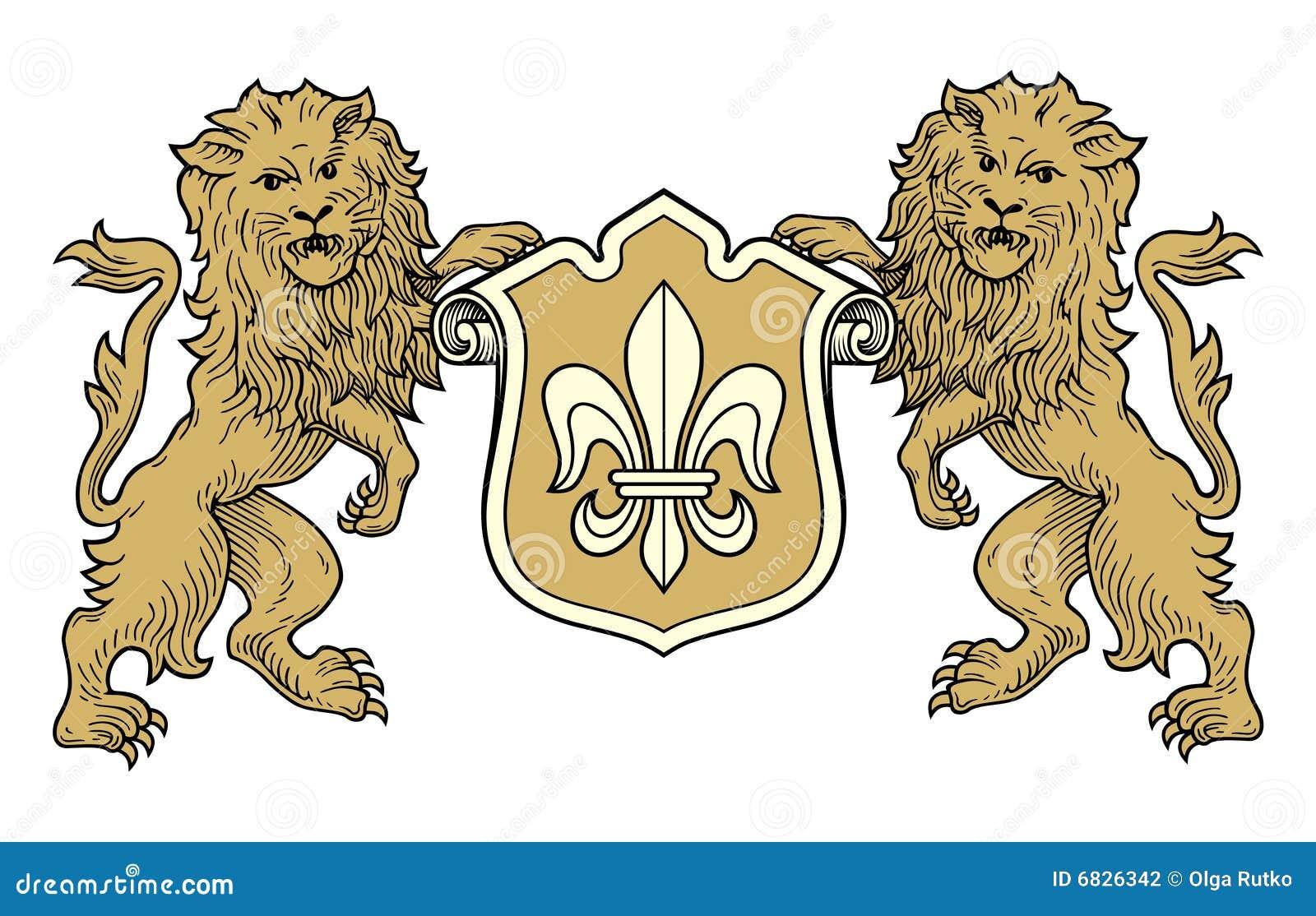 胳膊外套狮子向量