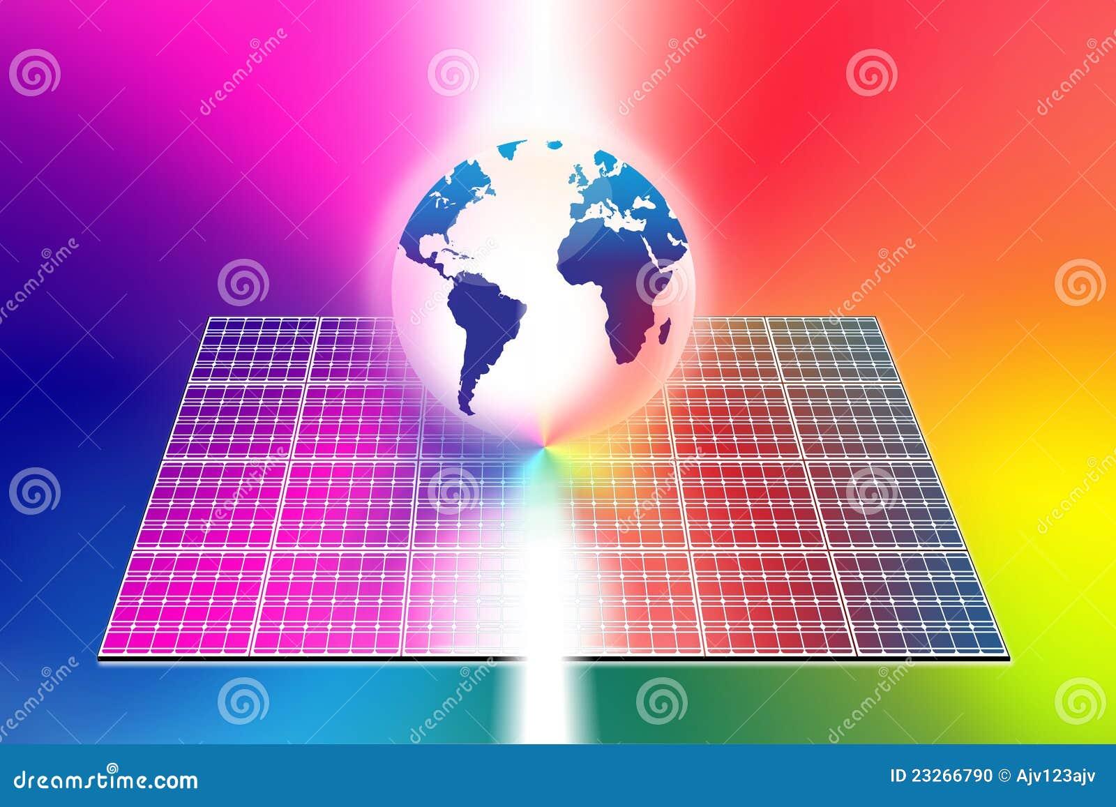 能源镶板太阳世界