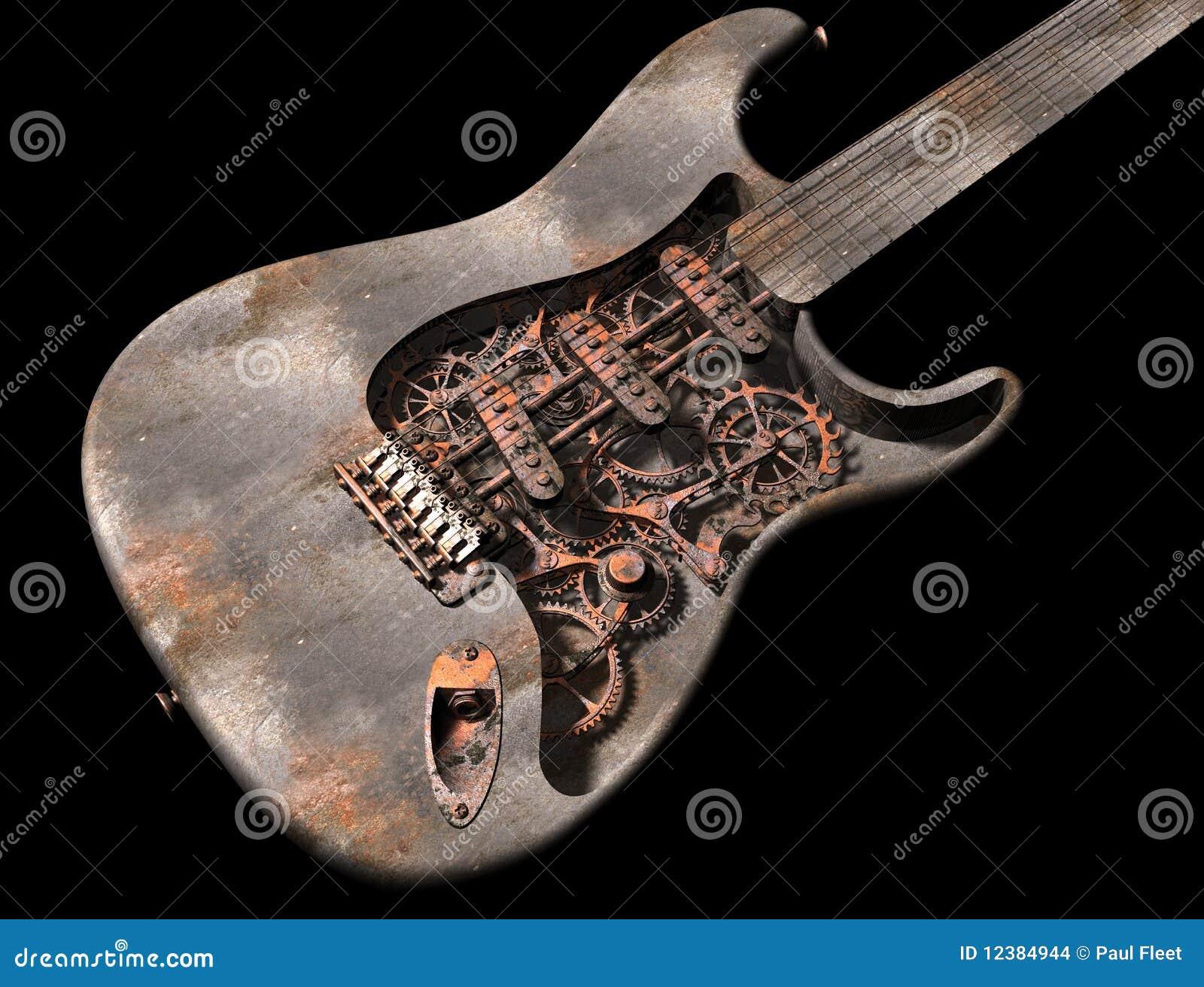 脏的吉他废物蒸汽