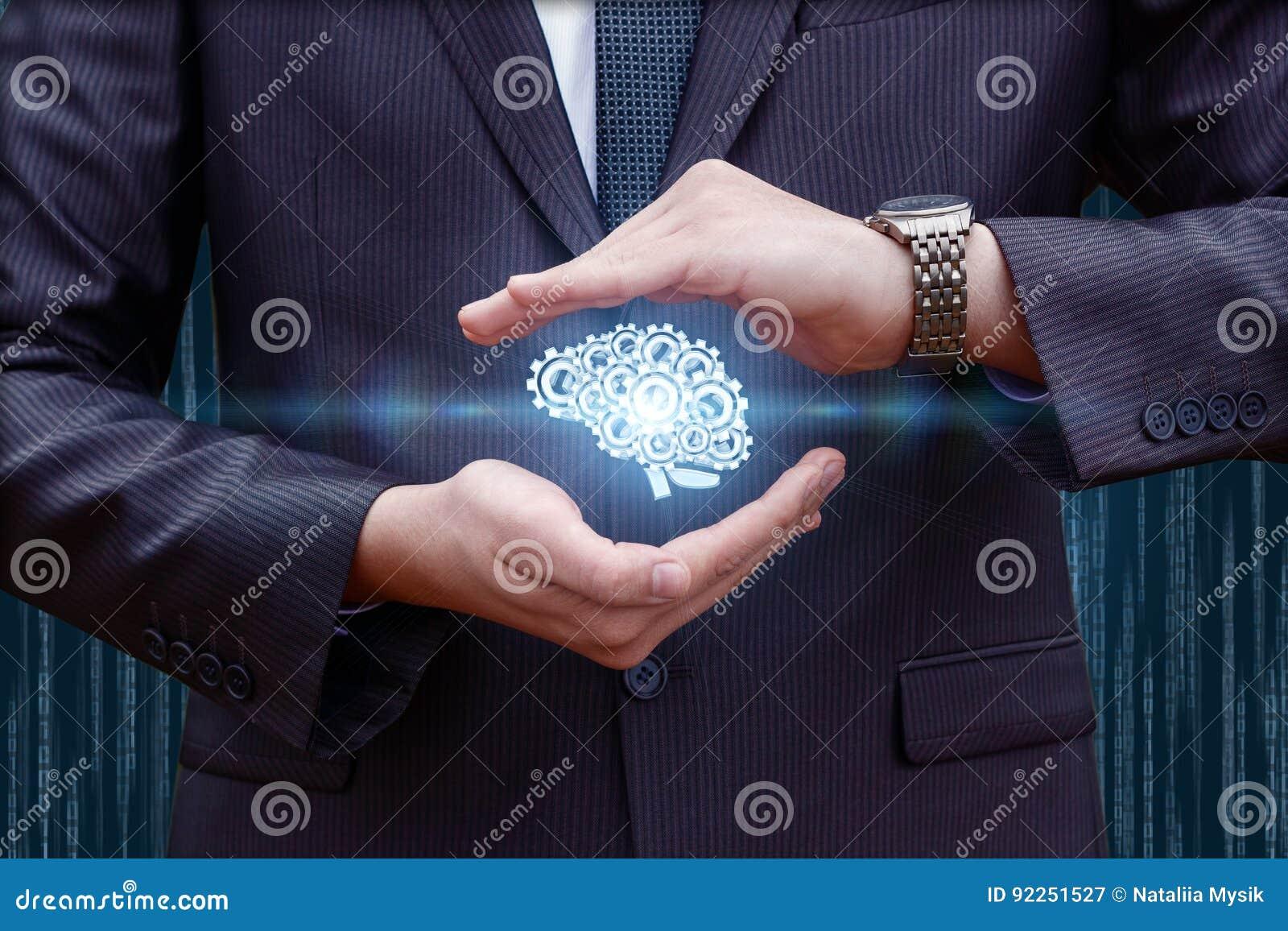 脑子在手上包括齿轮