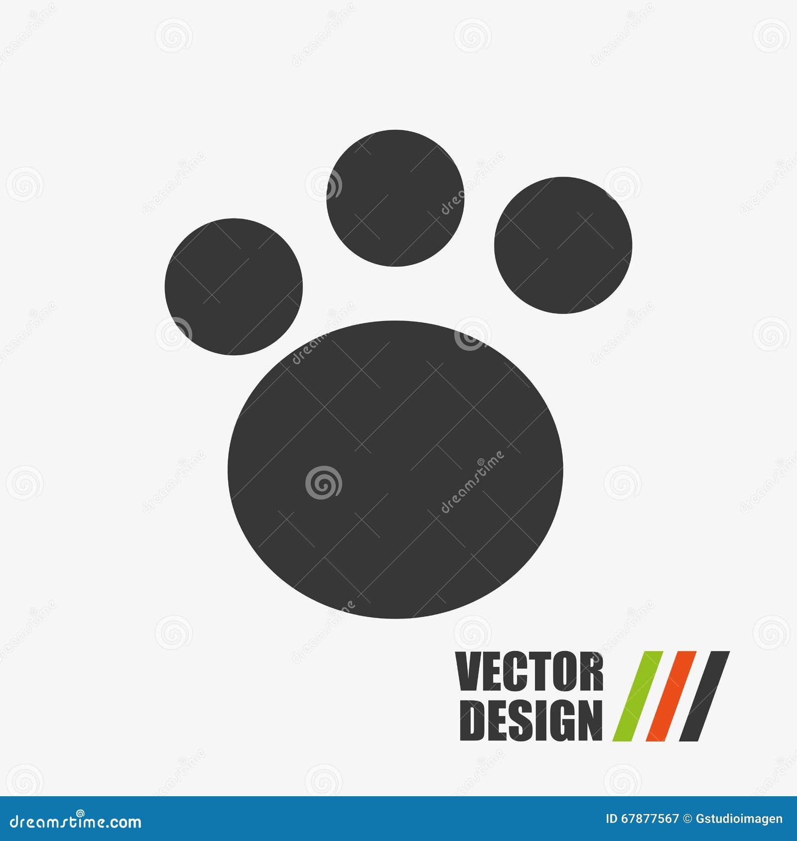 脚印刷品设计