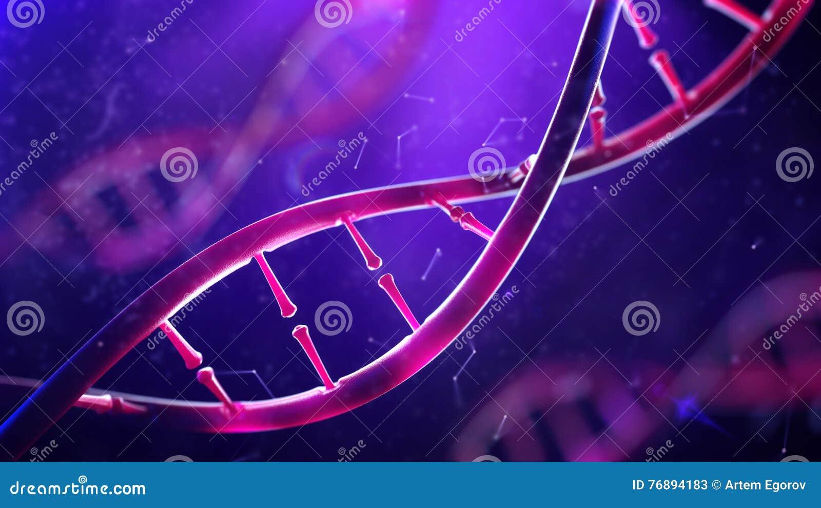 脱氧核糖核酸分子 概念人类基因组特写镜头