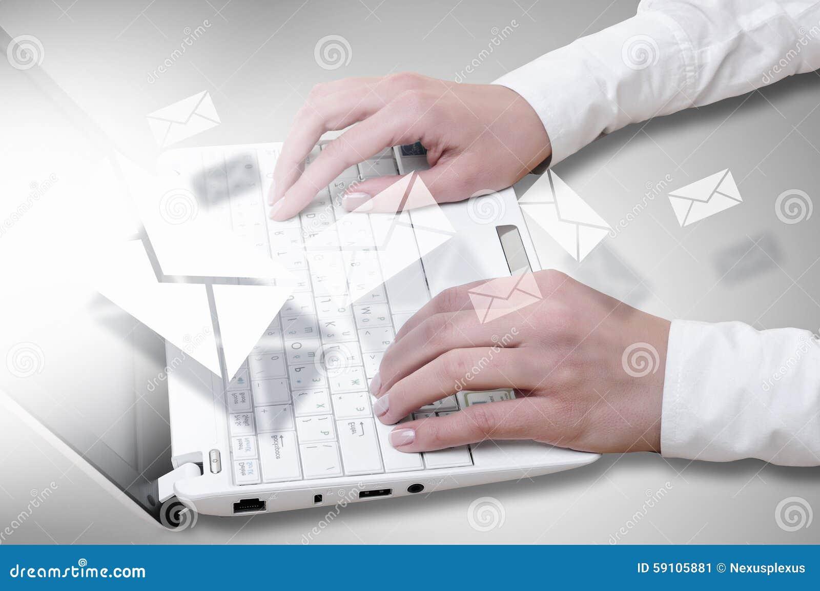 膝上型计算机人使用