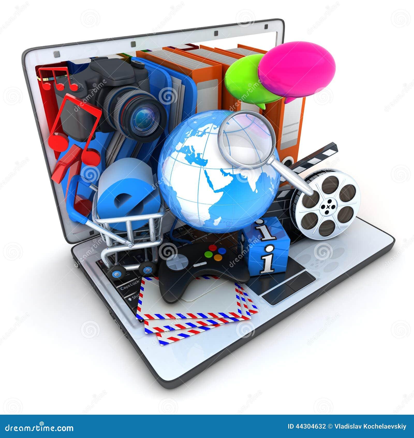 膝上型计算机和多媒体