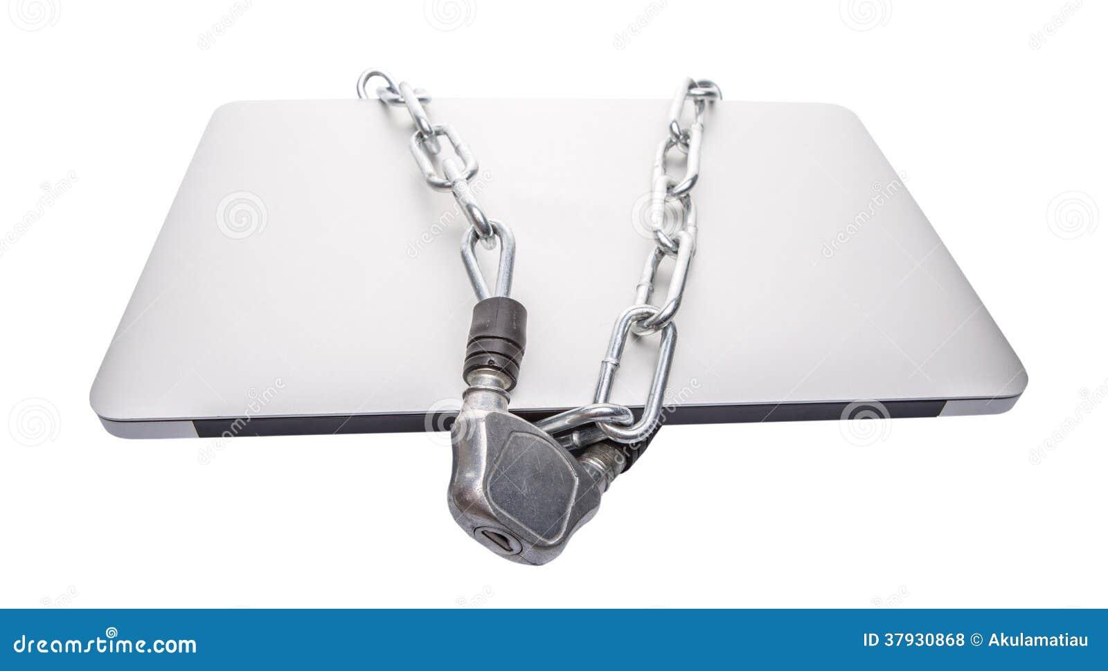 膝上型计算机和链子VII
