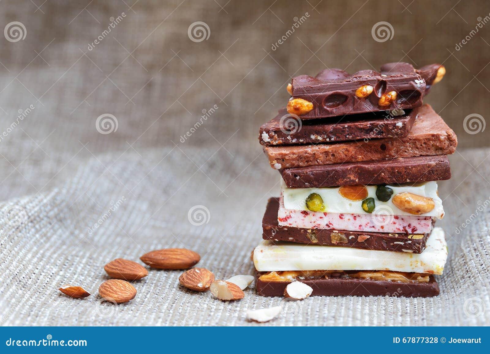 自创的巧克力