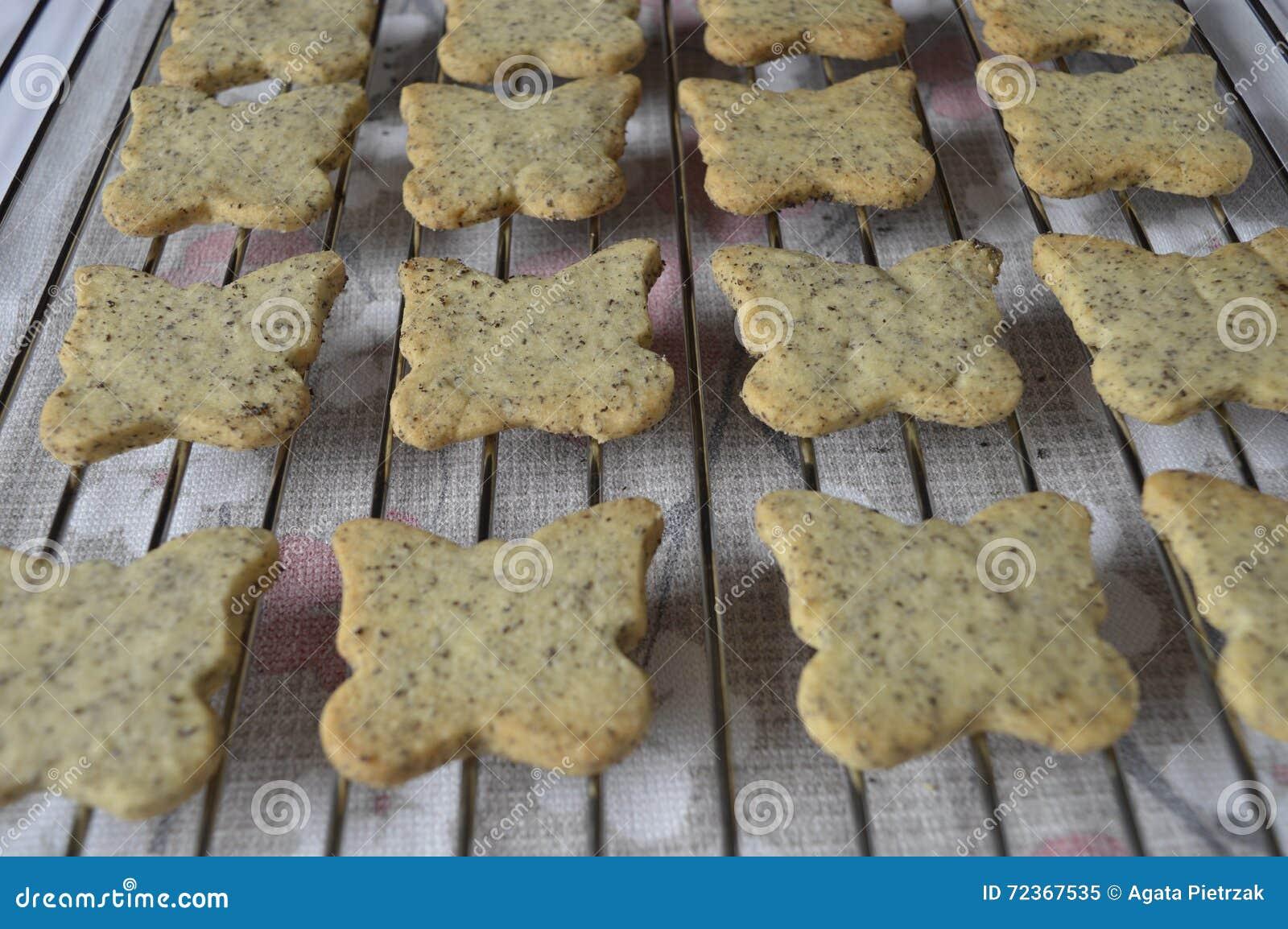 自创罂粟种子曲奇饼