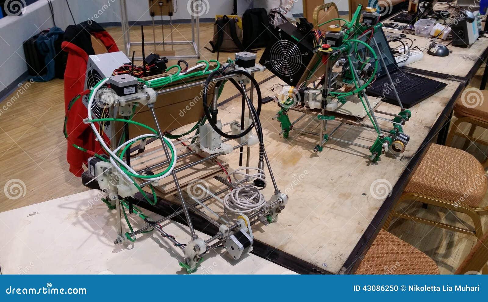 自创3D打印机