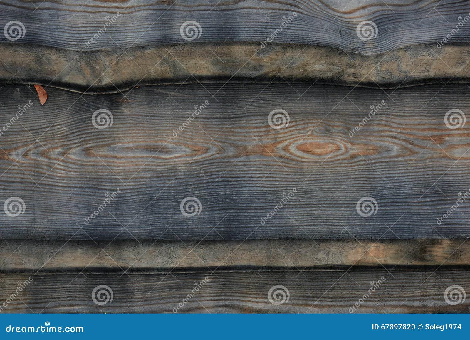 自然木板条背景特写镜头