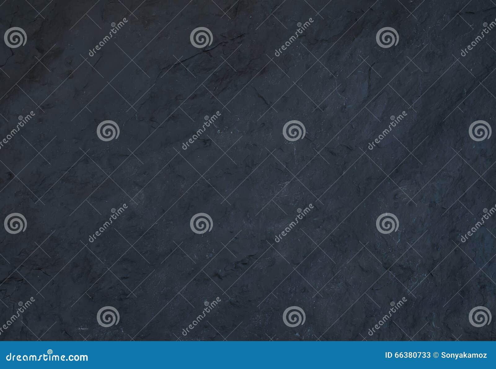 黑自然板岩石头纹理或背景