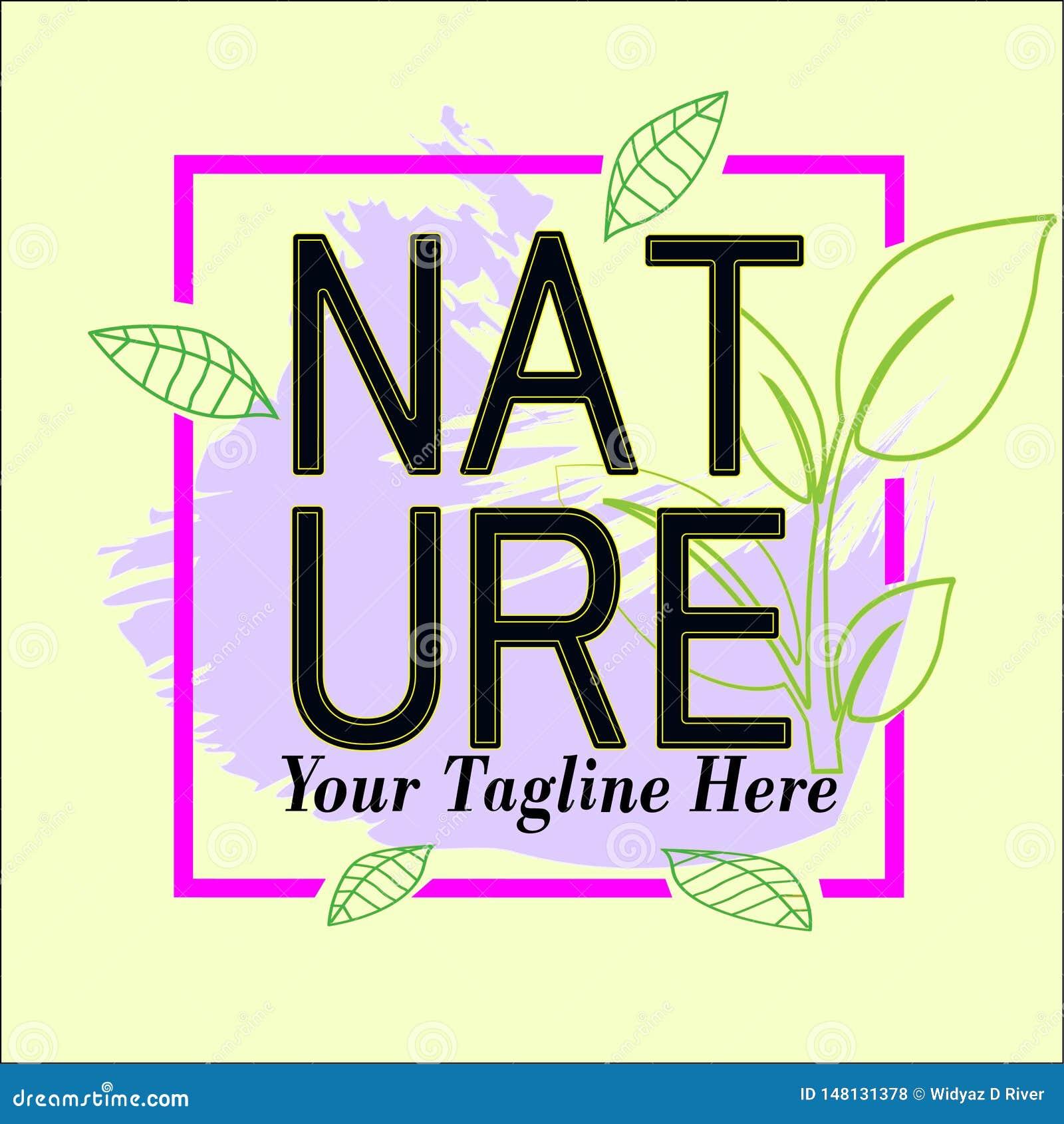 自然框架商标模板待售