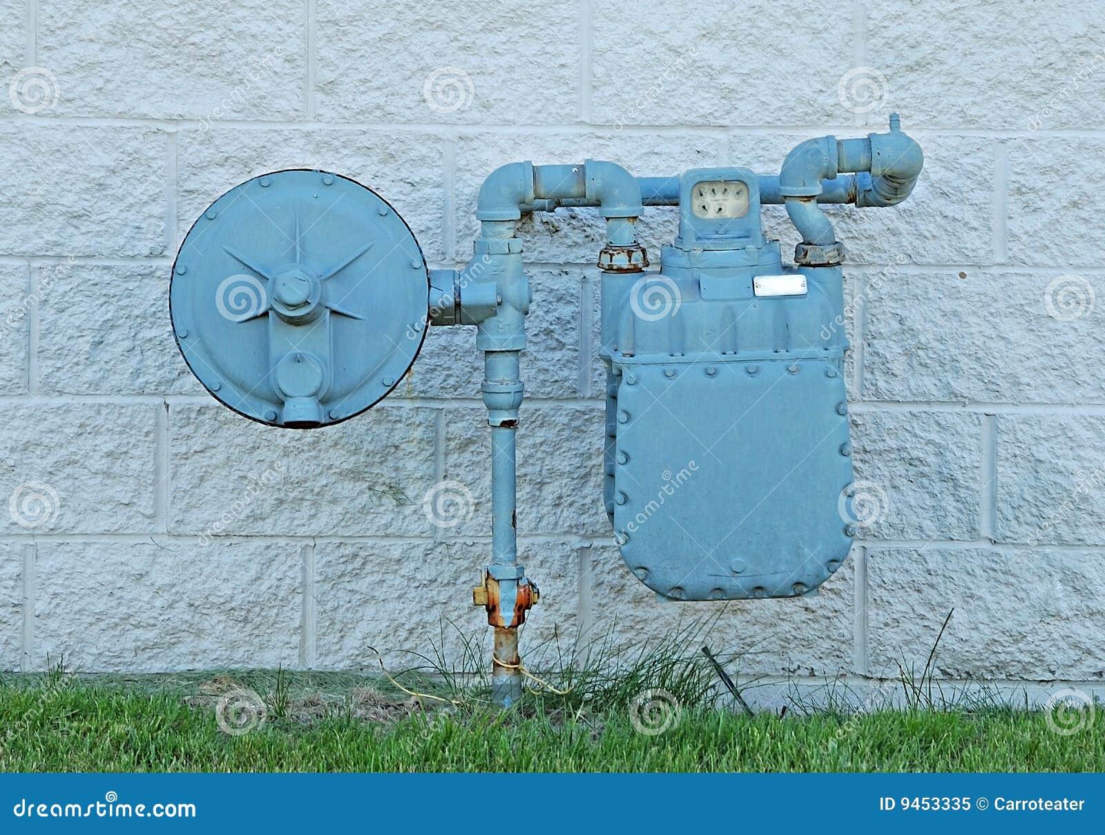 自然的煤气表