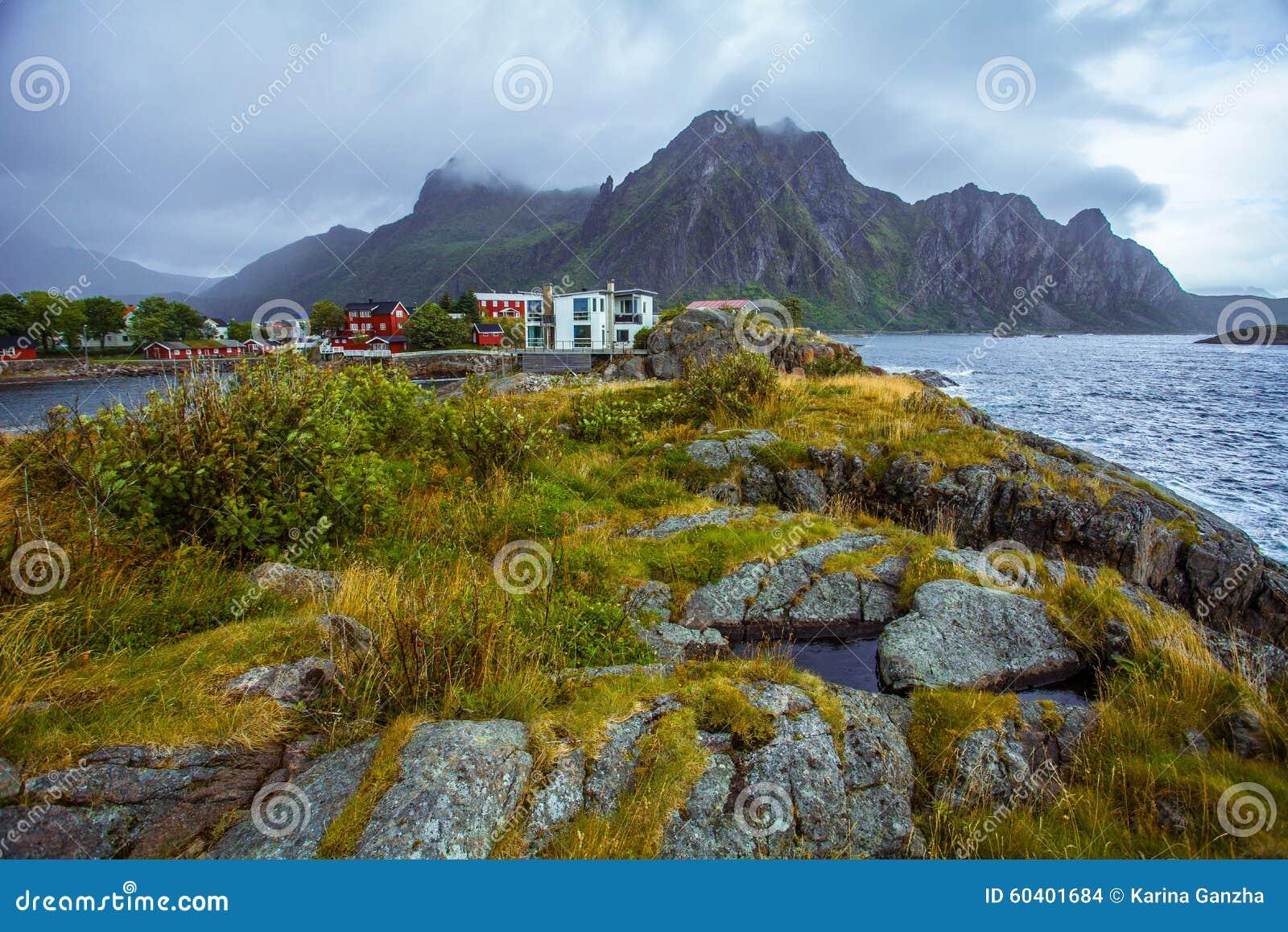 自然Lofoten在北挪威