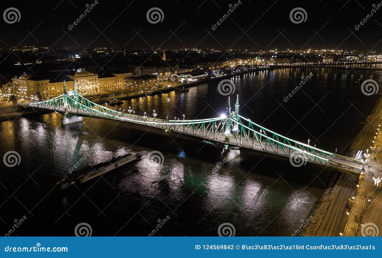 自由桥梁的地区看法在匈牙利,布达佩斯的首都