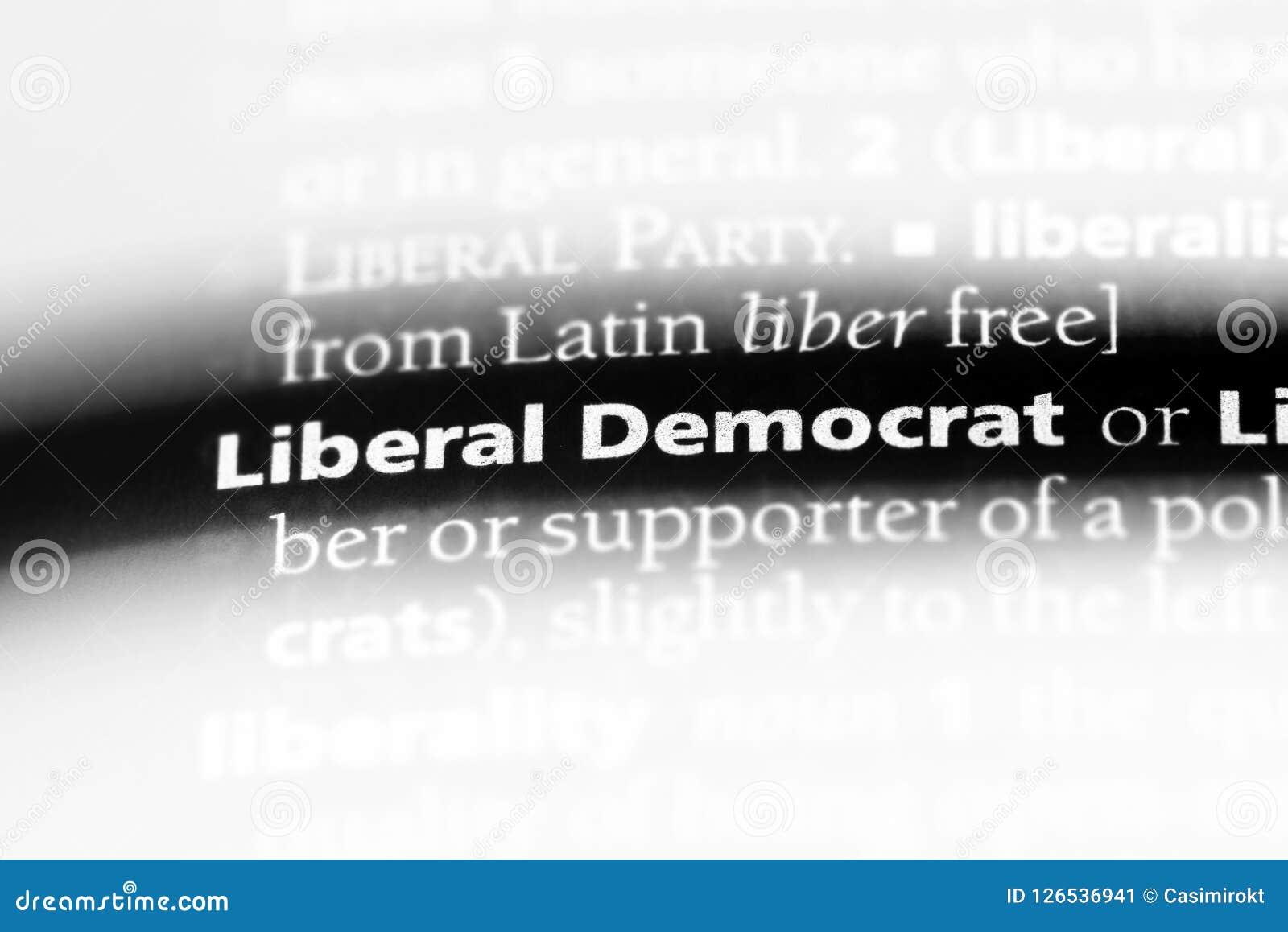 自由派民主党人