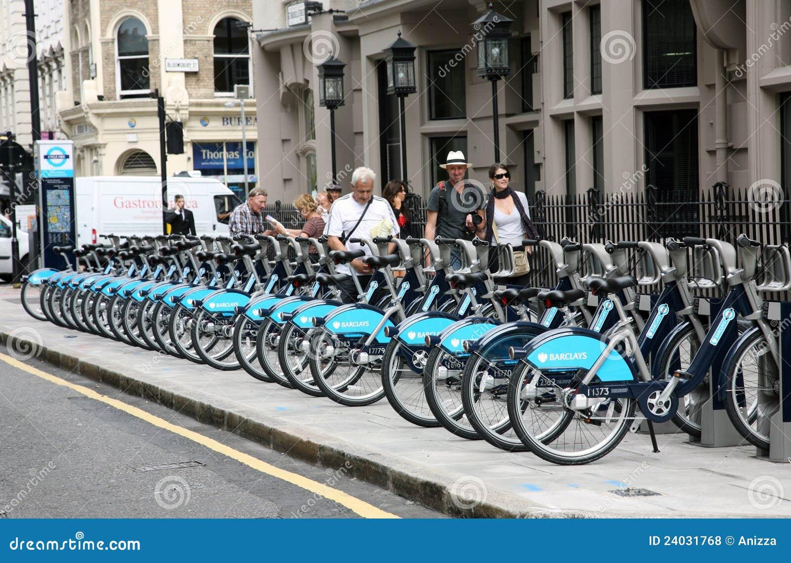 自行车伦敦s模式共享