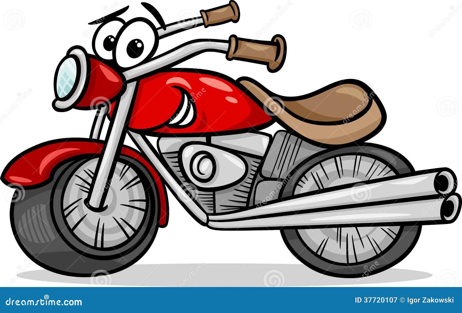 自行车或砍刀动画片例证