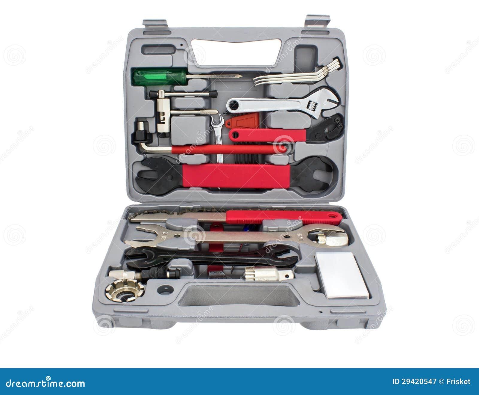 自行车技工工具箱