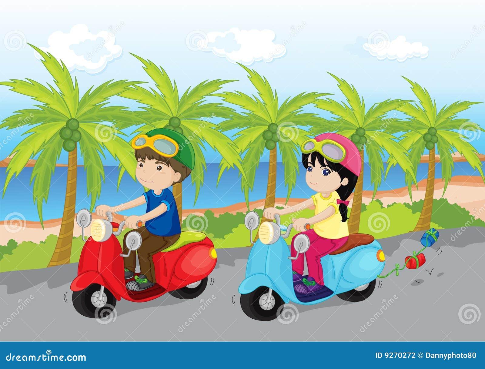 自行车沿海乘驾