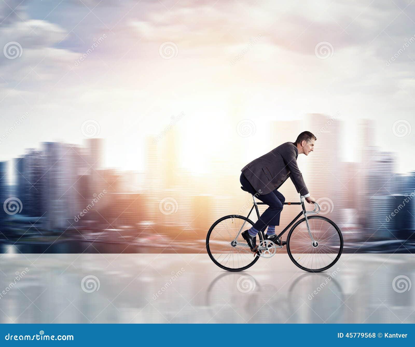 自行车的商人