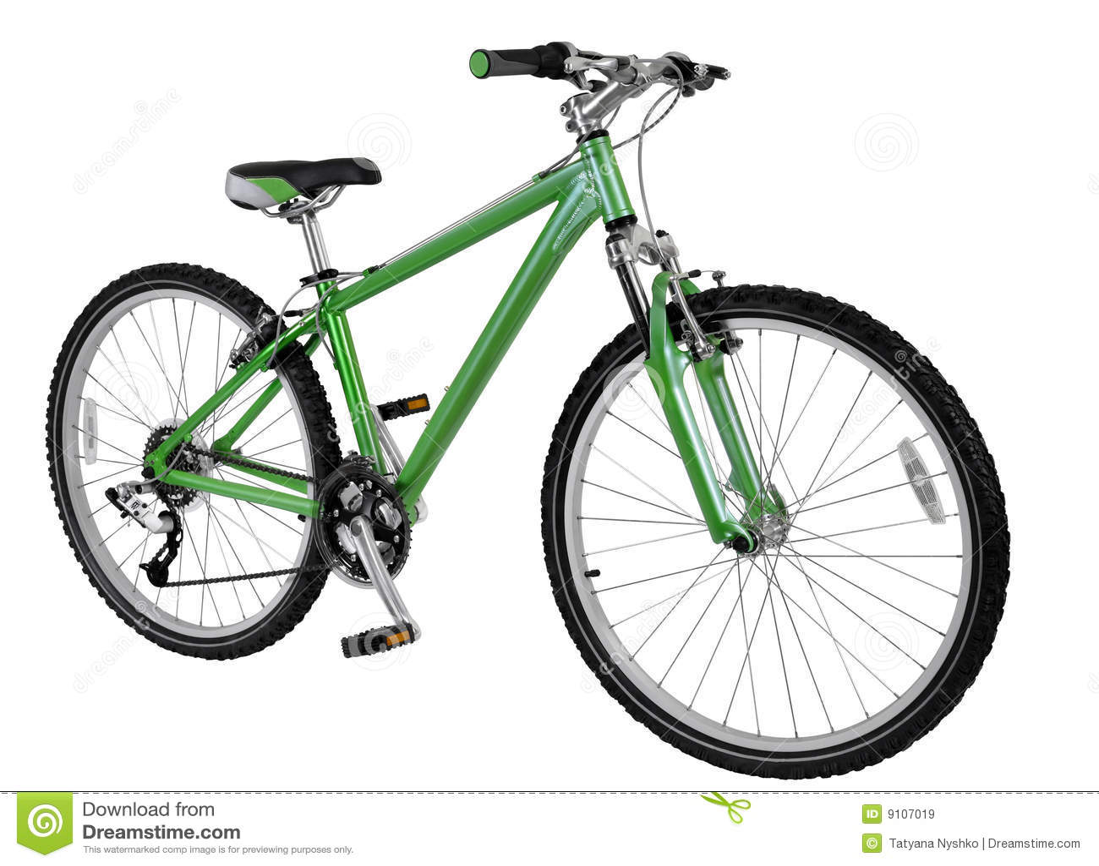自行车绿色
