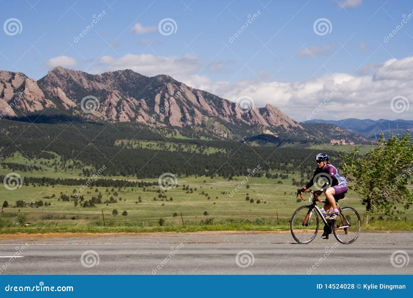 自行车骑士科罗拉多