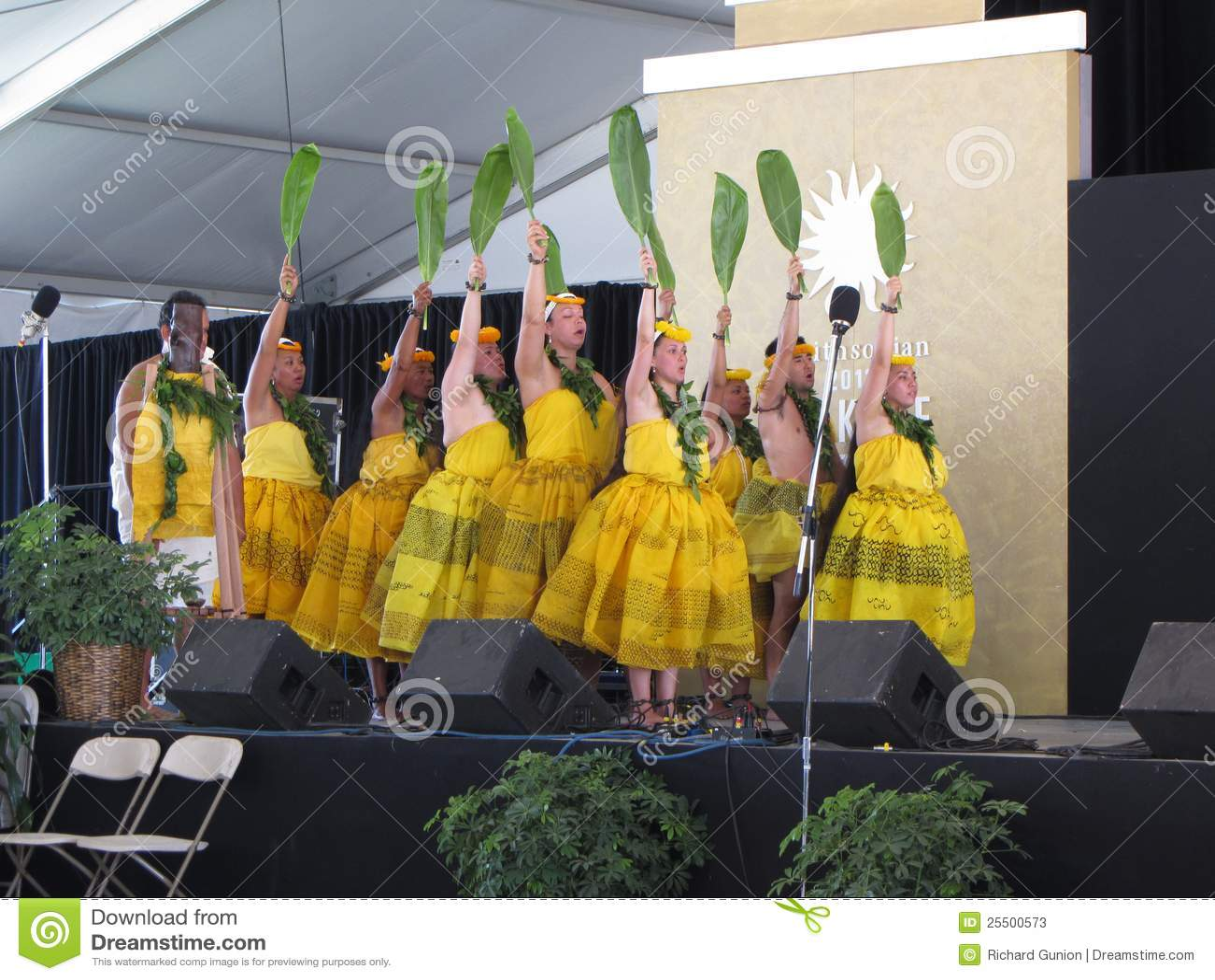 舞蹈夏威夷人马戏团